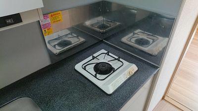 コンパ口キッチンなのでお掃除も楽々。