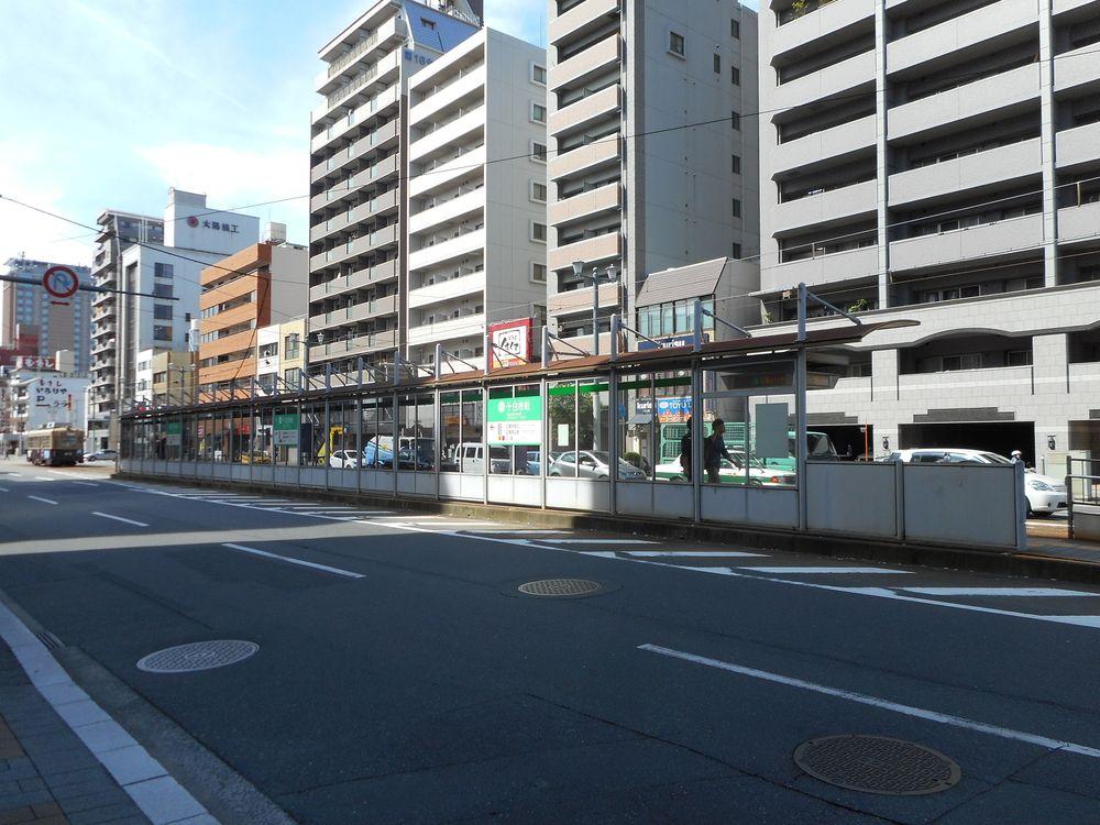 〒730-0805 広島県広島市中区十日市町1丁目3にある広島電鉄電停