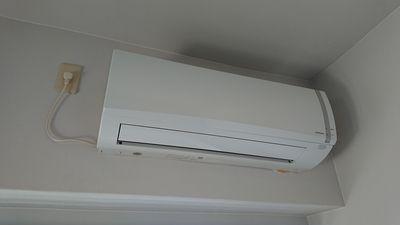 エアコンも設備で付いてます。