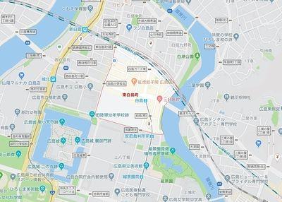 広島市中区東白島町の賃貸のお部屋探し