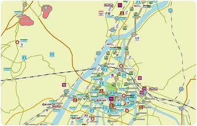 横川駅周辺のコンビニ・スーパーのイメージ図|お部屋探し時など参考にして下さい
