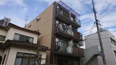 広島市中区白島九軒町の大芝総合ビル2外観写真です