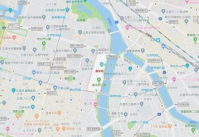 広島市中区橋本町の賃貸のお部屋探し