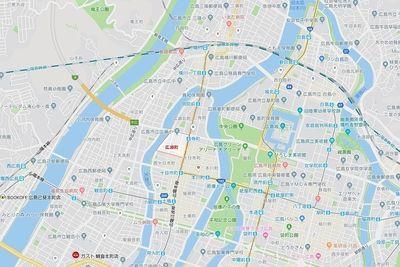 広島市中区広瀬町で賃貸のお部屋探し